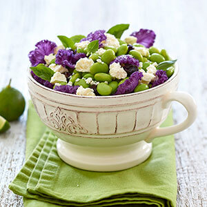 Edamame Salad with Tre Stelle® Feta and Dried Cherries