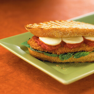 Chicken Cutlet and Tre Stelle® Bocconcini Panini