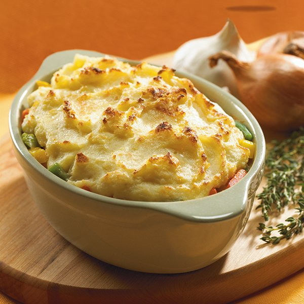 Chicken Pot Pie with Tre Stelle® Ricotta Potato Topping