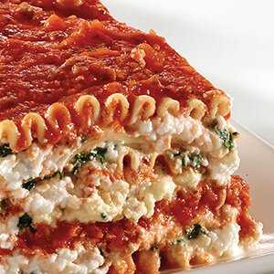 Tre Stelle® Mozzarella Lasagna with Ricotta and Meat Sauce