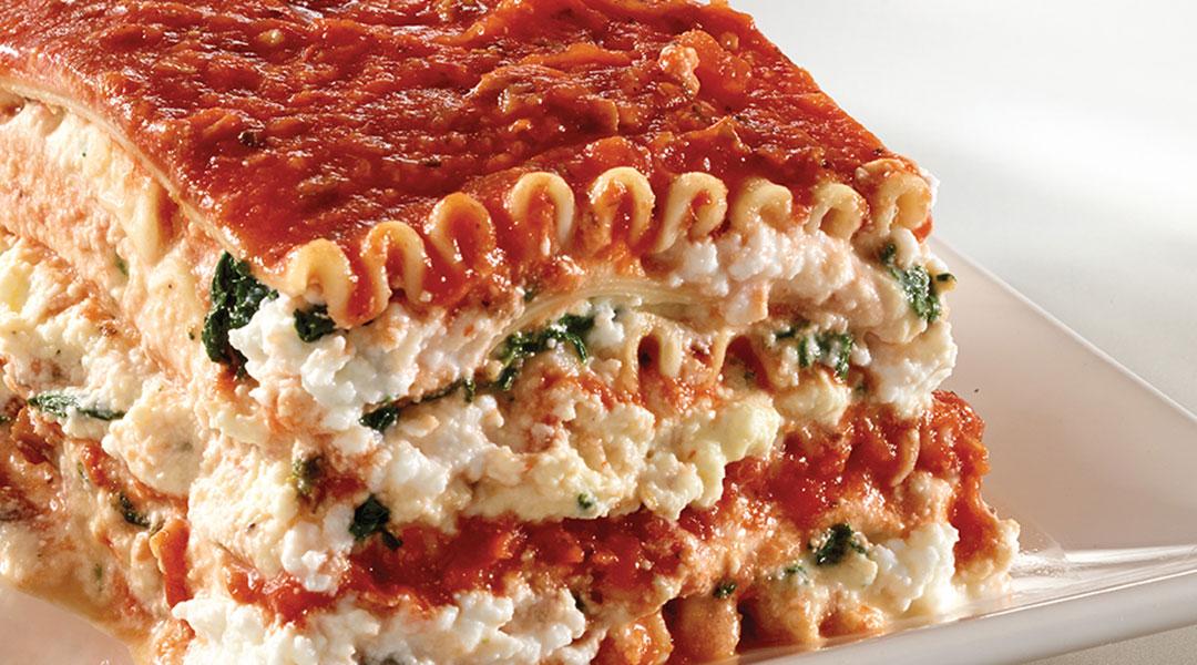 ... Recipe - Tre Stelle Mozzarella Lasagna with Ricotta and Meat Sauce