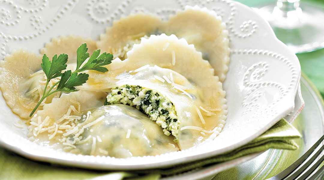 Tre Stelle Recipe - Tre Stelle Ricotta, Spinach and Lemon ...