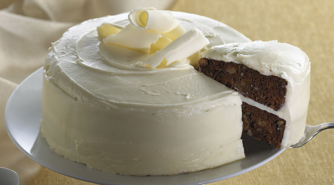... Recipe - Chocolate Carrot Cake with Tre Stelle Mascarpone Frosting